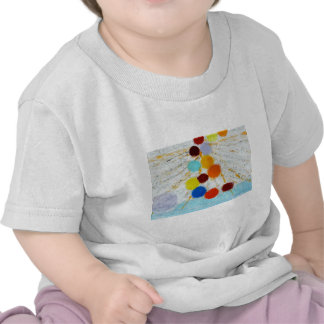 Sourcing - A abstract painting by Susan Richter T-shirts