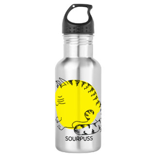 Sourpuss Stainless Steel Water Bottle