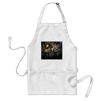 Souryuzu Twin Dragons in Temple Adult Apron