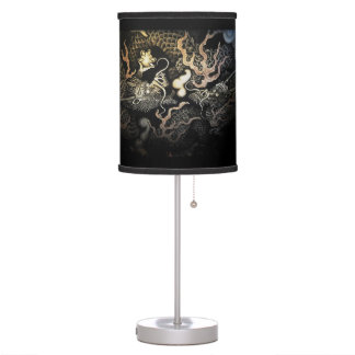 Souryuzu Twin Dragons in Temple Desk Lamp
