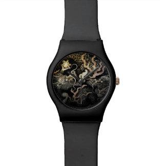 Souryuzu Twin Dragons in Temple Wrist Watch
