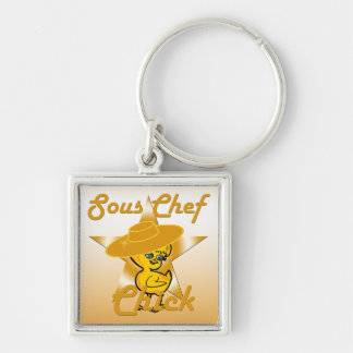 Sous Chef  Chick #10 Keychain