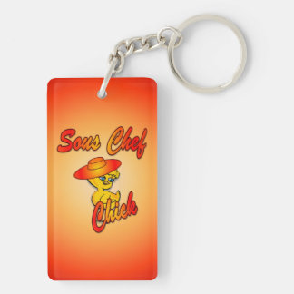 Sous Chef Chick #5 Keychain