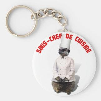 SOUS - CHEF DE CUISINE KEYCHAIN