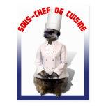 SOUS - CHEF DE CUISINE TARJETAS POSTALES