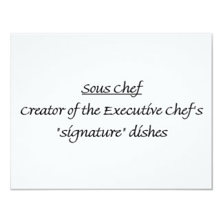 Sous Chef Defined Card