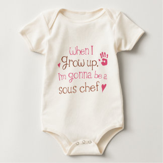Sous Chef (Future) Infant Baby T-Shirt