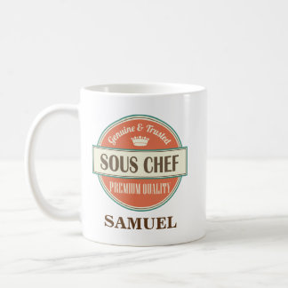 Sous Chef Personalized Office Mug Gift