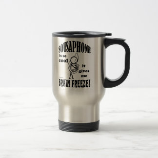 Sousaphone, Brain Freeze Travel Mug