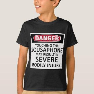 Sousaphone del peligro playeras