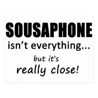 Sousaphone Isn't Everything Postcard