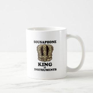 Sousaphone King of Instruments Coffee Mug