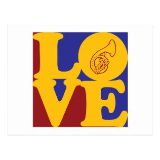 Sousaphone Love Postcard