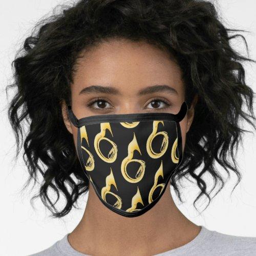 Sousaphone Marching Tuba Band Teacher Music Face Mask