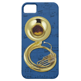 Sousaphone & music phone case. Pick color iPhone SE/5/5s Case