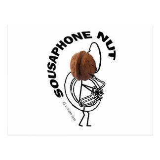 Sousaphone Nut Postcard