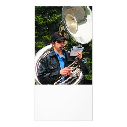 Sousaphone Picture Card