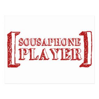 Sousaphone Player Postcard