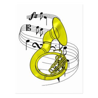 Sousaphone Postcard