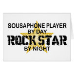 Sousaphone Rock Star by Night Cards