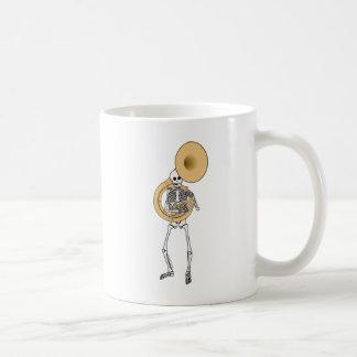 Sousaphone Skeleton Coffee Mug