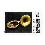 Sousaphone Stamp