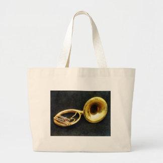 Sousaphone Still Life Tote Bag
