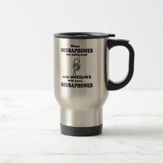 Sousaphones Outlawed Travel Mug