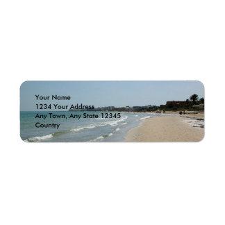Sousse Tunisia #1 Avery Label