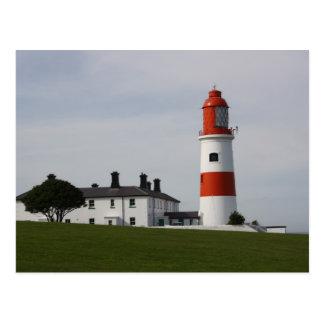 Souter Lighthouse, England Post Card
