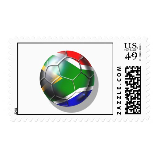 South Africa 2010 / 2011 Soccer Gifts Postage