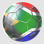 South Africa 2010 / 2011 Soccer Gifts Round Sticker
