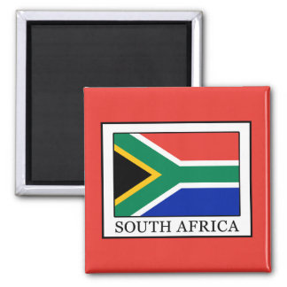 South Africa 2 Inch Square Magnet