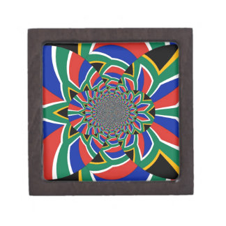 """South Africa 2"""" Square Gift Box"""