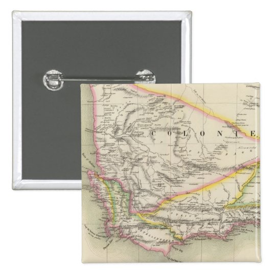 South Africa 53 Pinback Button