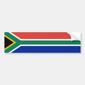 South Africa/African Flag Bumper Sticker