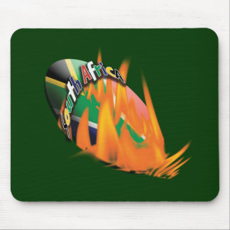 South Africa bokke rugby ball mousepads