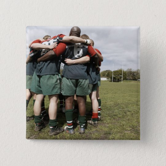 South Africa, Cape Town, False Bay Rugby Club 2 Pinback Button