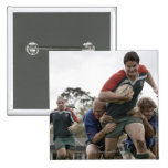 South Africa, Cape Town, False Bay Rugby Club Pinback Buttons