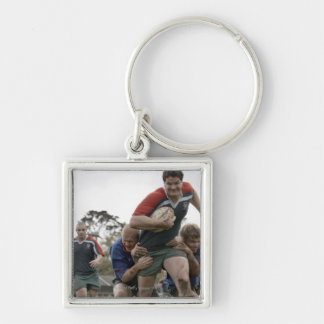 South Africa, Cape Town, False Bay Rugby Club Keychain
