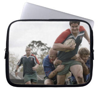 South Africa, Cape Town, False Bay Rugby Club Laptop Sleeve