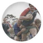 South Africa, Cape Town, False Bay Rugby Club Party Plates