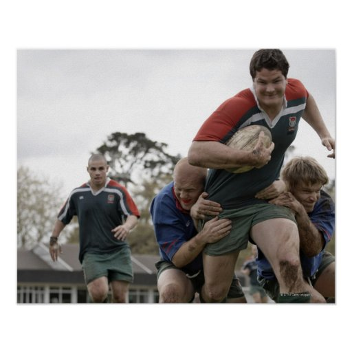 South Africa, Cape Town, False Bay Rugby Club Posters
