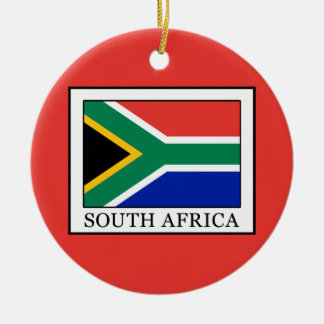 South Africa Ceramic Ornament