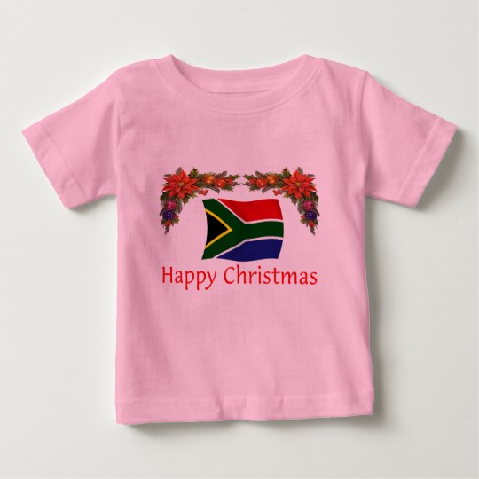 South Africa Christmas Baby T-Shirt