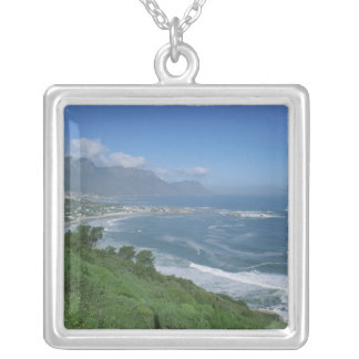 South Africa - Clifton Beach, Cape Town Silver Plated Necklace