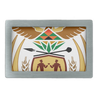 South Africa Coat of Arms Rectangular Belt Buckles