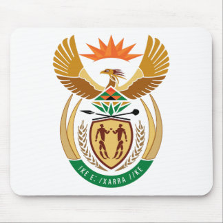 South Africa Coat of Arms Mouse Pad