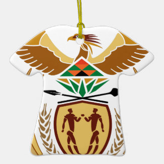 South Africa Coat of Arms Ornaments
