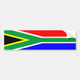 south africa country flag nation symbol name text bumper sticker